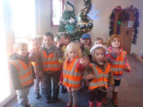 Liverpool Day Nursery enjoys a visit from the Fire Service