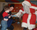 Father Christmas at our Day Nursery in Liverpool