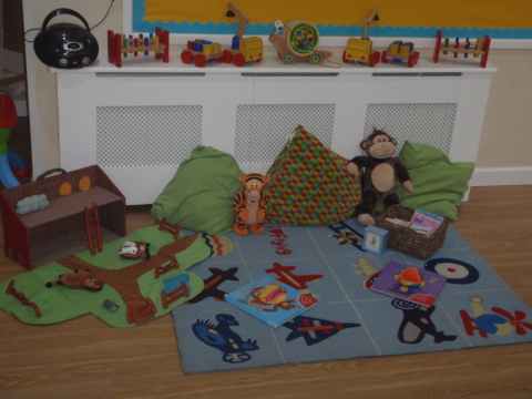 Nap time is important at our Day Nursery in Liverpool