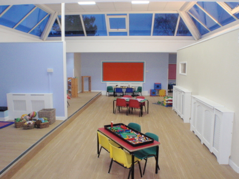 New Pre-school room