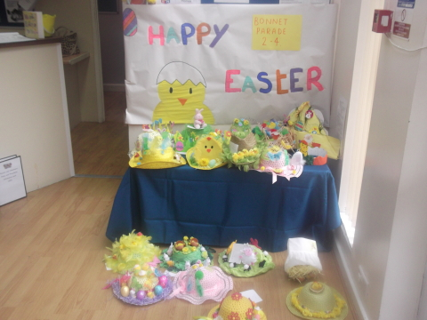 Easter Bonnet at our Liverpool Day Nursery